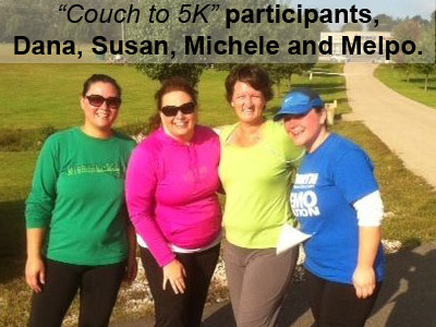Couch to 5K; Health vs. the Belly Button (photo)